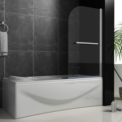 Bath Screens with Rail