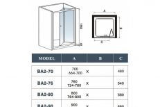 Bi-Fold Shower Doors 07