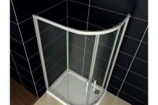 Offset Quadrant Shower Doors 05