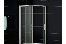Offset Quadrant Shower Doors 04