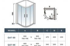 Quadrant Shower Doors 04